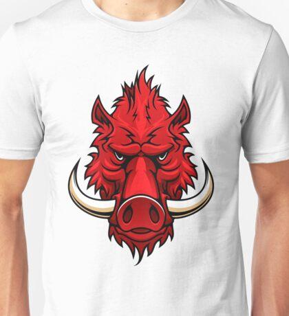 Red boar Unisex T-Shirt