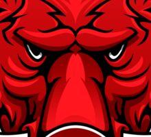 Red boar Sticker