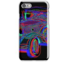 Neon 1930 Cadillac iPhone Case/Skin