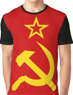 Hammer and Sickle Graphic T-Shirt