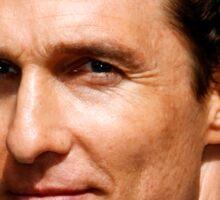 Lord McConaughey Sticker