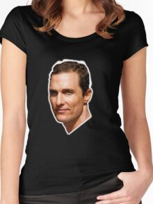 Lord McConaughey Women's Fitted Scoop T-Shirt