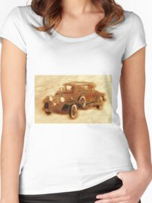 1930 Cadillac Women's Fitted Scoop T-Shirt