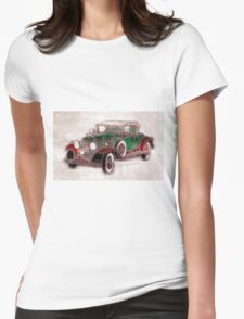 1930 Cadillac Womens Fitted T-Shirt