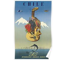 Vintage poster - Chile Poster