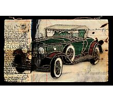 1930 Cadillac Photographic Print