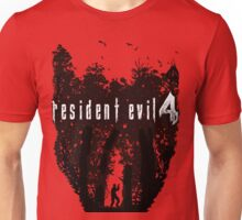 RE4 Transparent European Box Art Style Unisex T-Shirt