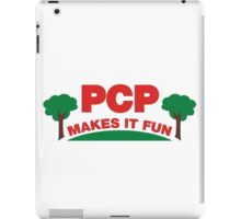 PCP Makes It Fun Leslie Knope Funny Design iPad Case/Skin