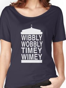 Wibbly Wobbly Timey Wimey - Doctor Who Women's Relaxed Fit T-Shirt