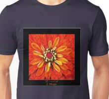 Zinnia In Colored Pencil Unisex T-Shirt