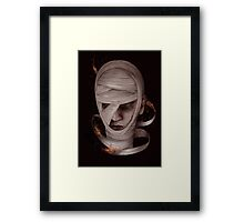 Watch me burn Framed Print