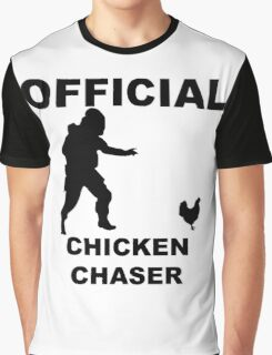 Chicken Chasher Graphic T-Shirt