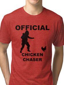 Chicken Chasher Tri-blend T-Shirt