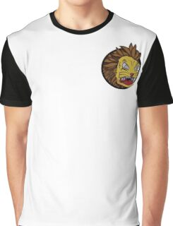 Vector Lion Graphic T-Shirt
