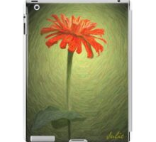 Zinnia In Colored Pencil iPad Case/Skin