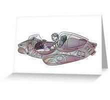 Seaplanes - Cockpit Greeting Card
