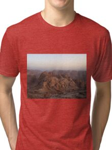 The Moses mountain. Tri-blend T-Shirt