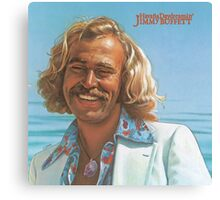 Young Jimmy Buffett Canvas Print