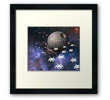 Star Invaders Framed Print