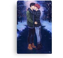 Jikook Commission Canvas Print