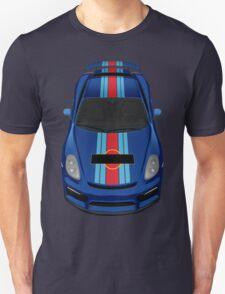 porsche cayman gt4 martini blue T-Shirt