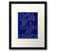 I'm a Khajiit Framed Print