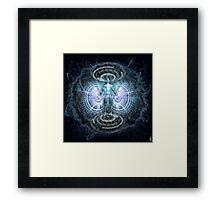 Conscious update Framed Print