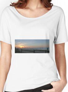 Sunset over Frankston Pier Women's Relaxed Fit T-Shirt