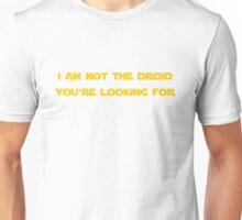 Jedi Mind Trick Unisex T-Shirt