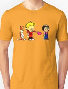 Calvin Hobbes Love T-Shirt