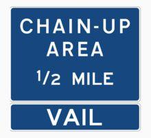 Chain Up! - Vail Kids Tee