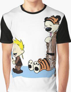 Calvin & Hobbes Wars Graphic T-Shirt