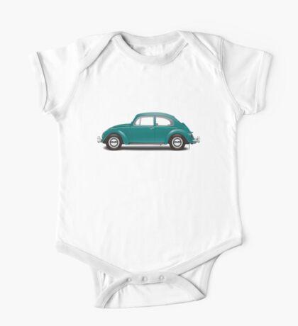 1967 Volkswagen Beetle Sedan - Java Green One Piece - Short Sleeve