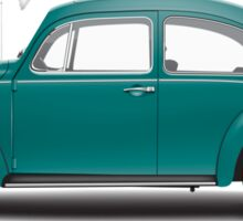 1967 Volkswagen Beetle Sedan - Java Green Sticker