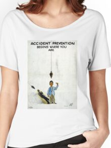 Vintage World War II Safety Women's Relaxed Fit T-Shirt