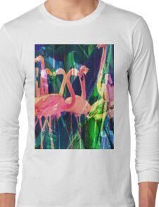 Flamingo Dance Long Sleeve T-Shirt