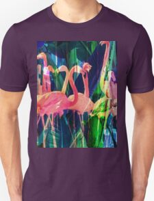 Flamingo Dance Unisex T-Shirt
