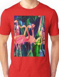 Flamingo Dance Unisex T-Shirt