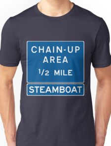 Chain Up! - Steamboat Unisex T-Shirt