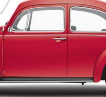 1968 Volkswagen Beetle Sedan - Royal Red Sticker
