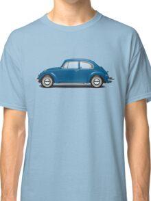 1968 Volkswagen Beetle Sedan - VW Blue Classic T-Shirt