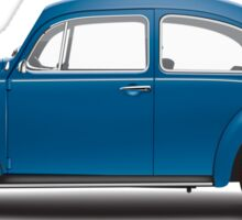 1968 Volkswagen Beetle Sedan - VW Blue Sticker