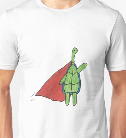 Super Turtle To The Rescue Unisex T-Shirt