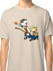 Calvin Hobbes Doctor Who Classic T-Shirt