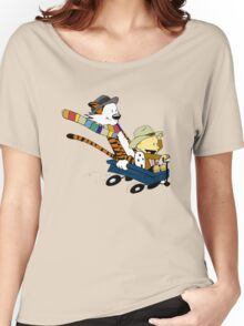 Calvin Hobbes Doctor Who Women's Relaxed Fit T-Shirt
