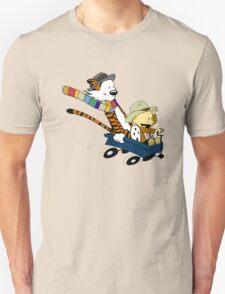 Calvin Hobbes Doctor Who Unisex T-Shirt
