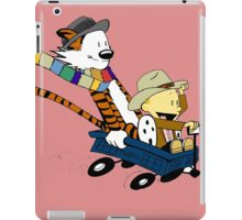 Calvin Hobbes Doctor Who iPad Case/Skin