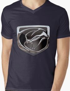 Dodge Viper 3D Badge Special Edition on Blue T-Shirt