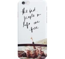 Karlie Kloss and Taylor Swift - New Romantics Lyric iPhone Case/Skin