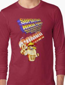 gravity falls Rumble McSkirmish fight fighters  Long Sleeve T-Shirt